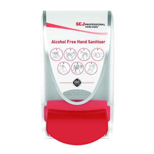 Deb Alcohol Free Foam Hand Sanitiser Dispenser