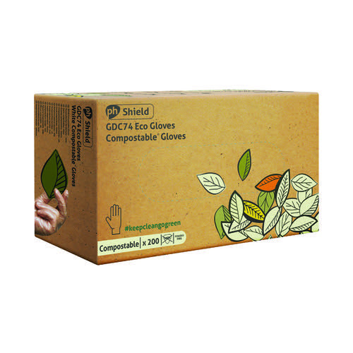 Shield Compostable Disposable Gloves